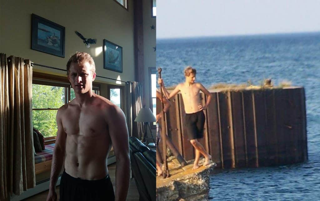 2 years transformation with calisthenics